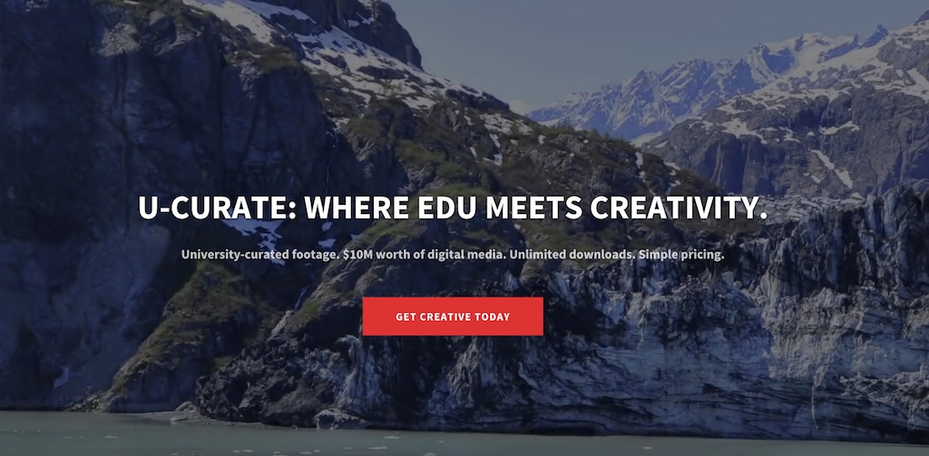 Announcing U-Curate: VideoBlocks EDU's Exclusive Creative Content Management Platform